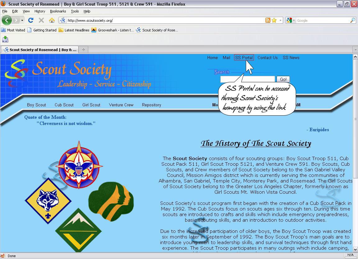 Access SS Portal