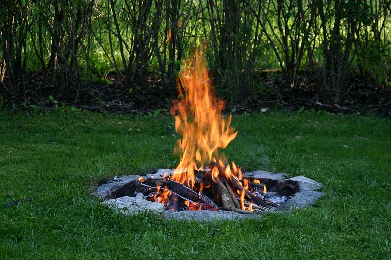 Campfires should be built in appropriate areas