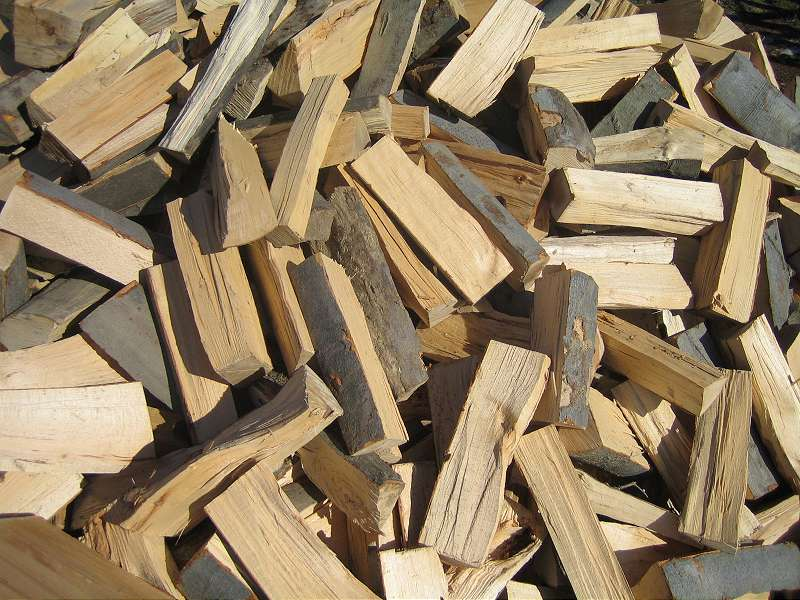 Small logs can be identified as fuelwood
