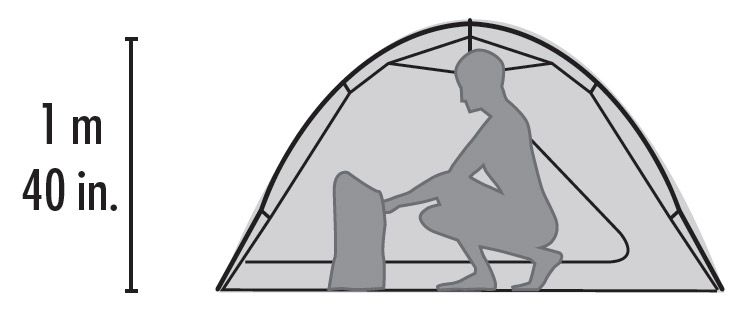 Tent Height